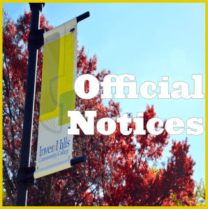 Official Notices